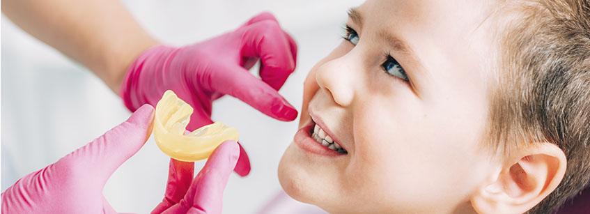 férula de descarga, dientes, ortodoncia, férula Michigan